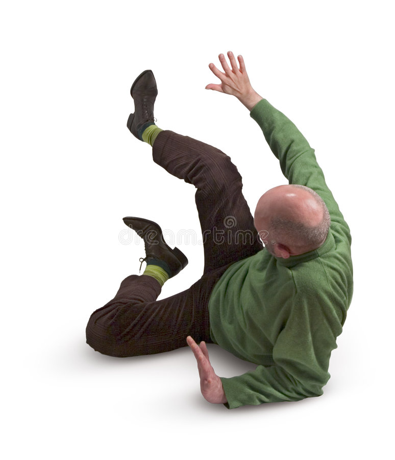 Man in Green Jumper 34. Man in green jumper lying on the floor, one arm outstretched royalty free stock images