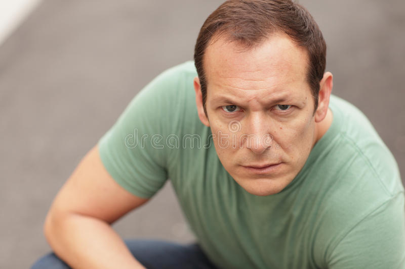 Download Man grunting stock photo. Image of emotion, adult, male - 19262012