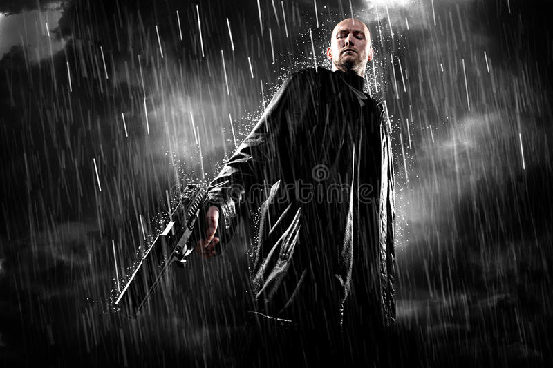 Download Man With Gun Royalty Free Stock Photography - Image: 17041677