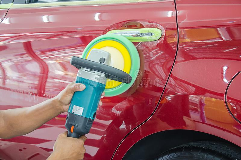 Auto Detailing Car royalty free stock image