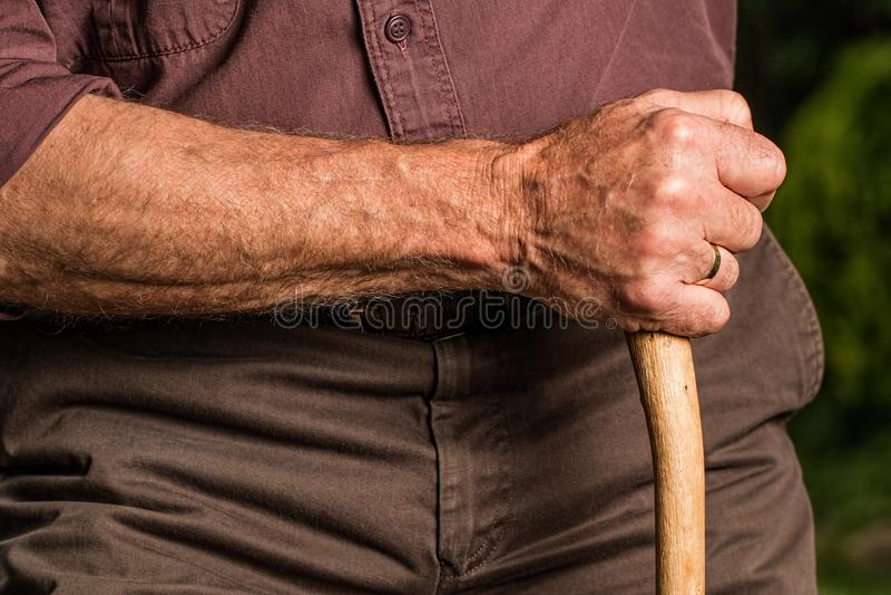 Man, Hand, Finger, Shoulder royalty free stock image