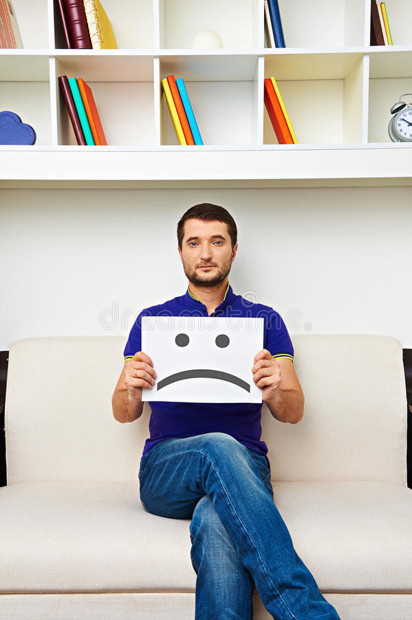 Download Man have a bad mood stock photo. Image of face, affliction - 31251206
