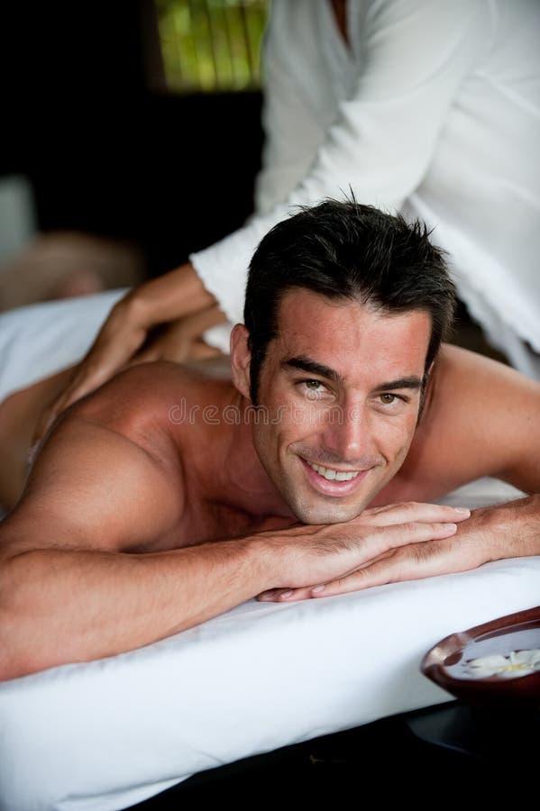 Download Man Having Massage Royalty Free Stock Images - Image: 9040529