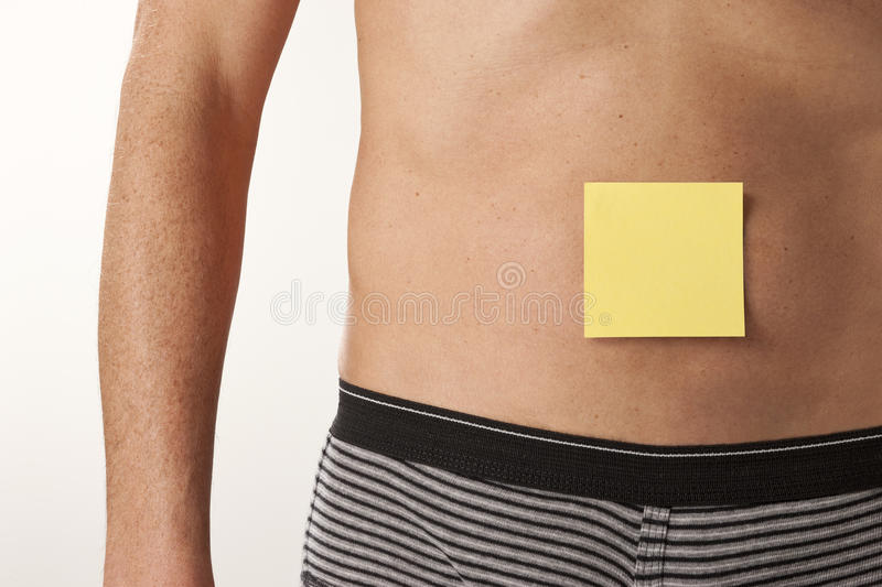 Download Man Healthcare Post It Note Stock Photo - Image: 15675848