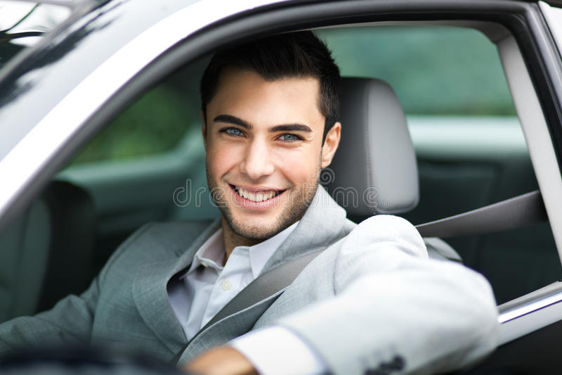 Download Man in his car stock photo. Image of bealt, maintenance - 28669994
