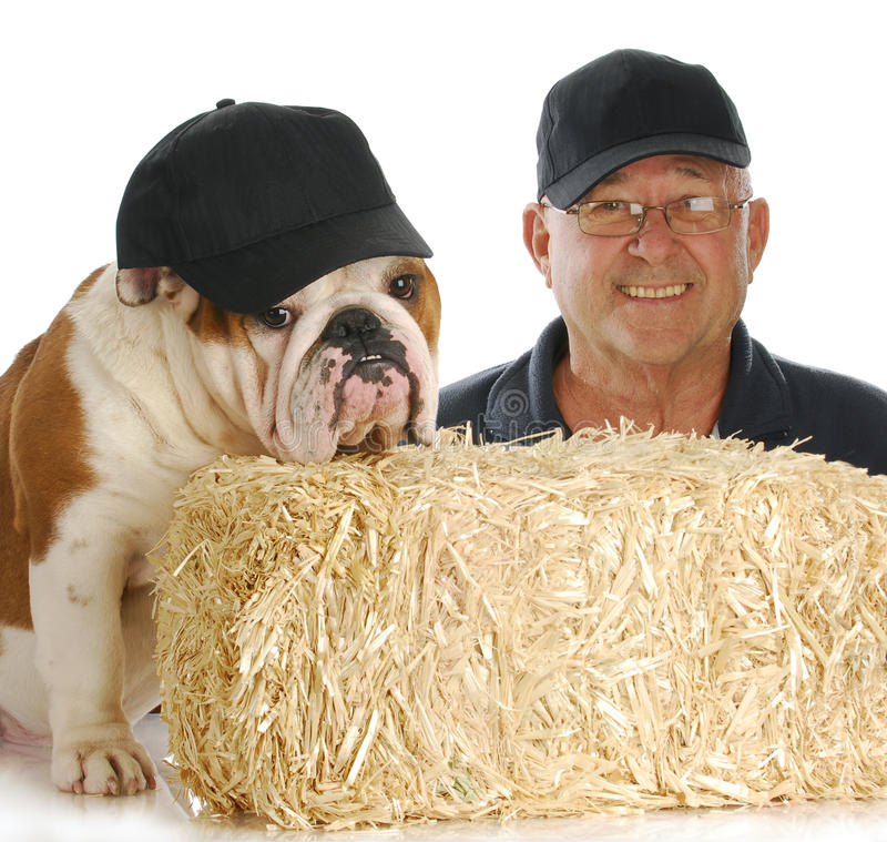 Download Man And His Dog Royalty Free Stock Images - Image: 18067259
