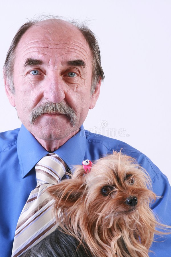 Man And His Dog Royalty Free Stock Photo