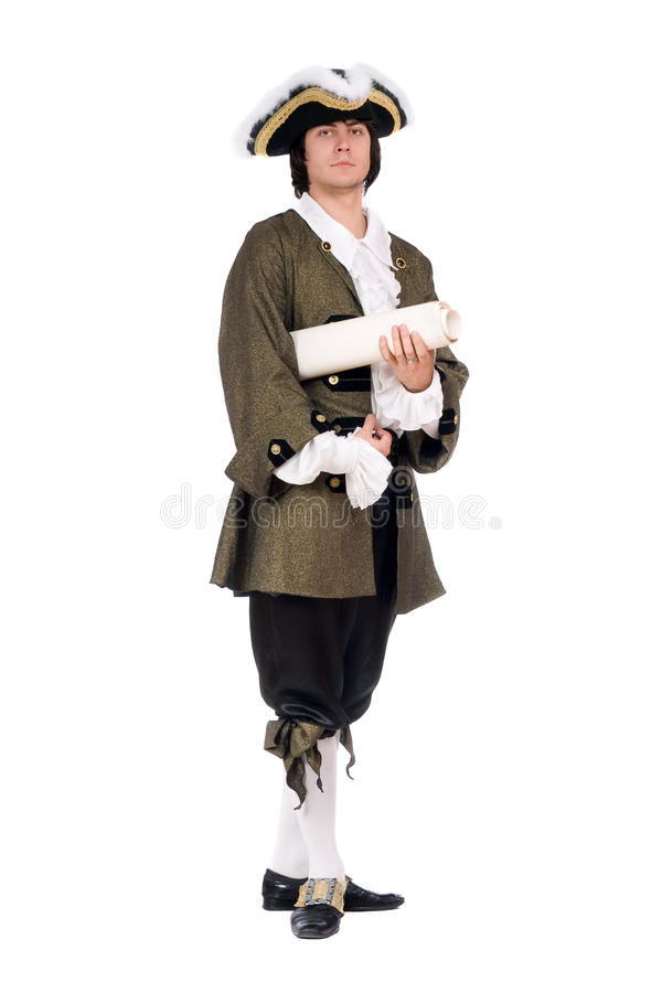 Download Man In A Historical Costume Stock Photo - Image: 23677900