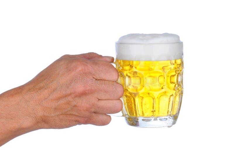 Download Man Holding Beer Mug stock photo. Image of beverage, holding - 22714126
