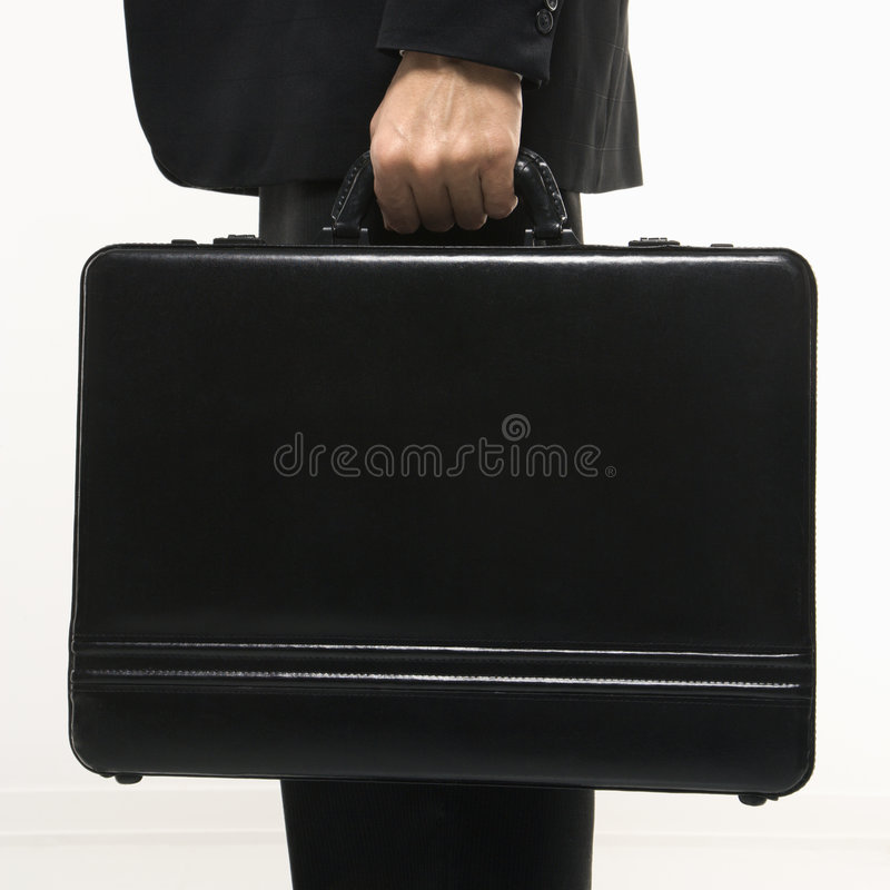 Download Man holding briefcase stock image. Image of caucasian - 2047065