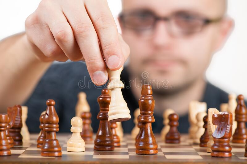 Man Holding Chess Piece Free Public Domain Cc0 Image