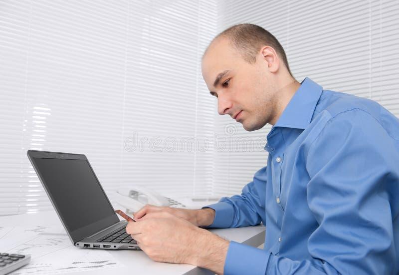 Man Holding Credit Card Royalty Free Stock Image
