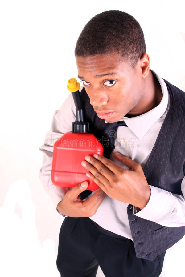 Download Man holding gas can stock image. Image of hold, save - 12150031