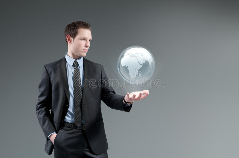 Futuristic technology concept. royalty free stock photos