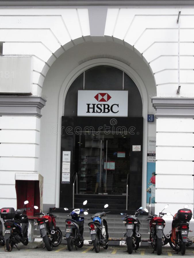 HSBC branch editorial image  Image of finance, business - 58976590