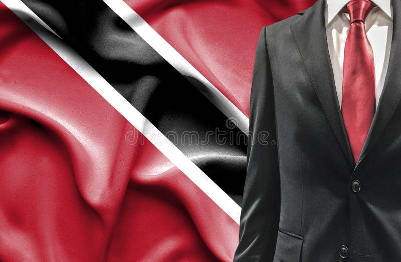 Man i dräkt från Trinidad och Tobago royaltyfria bilder