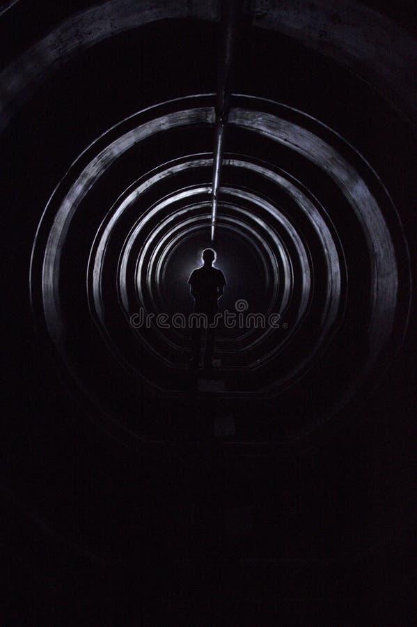 Man i tunnelbana arkivfoton