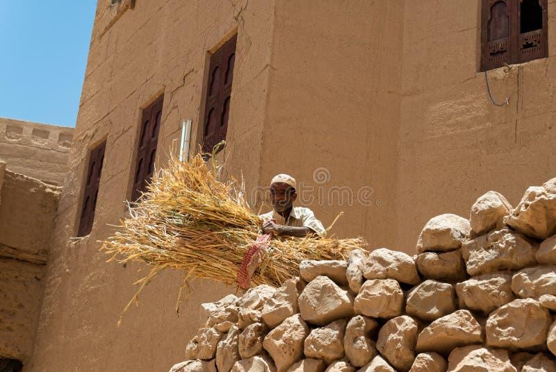 Man i Yemen fotografering för bildbyråer