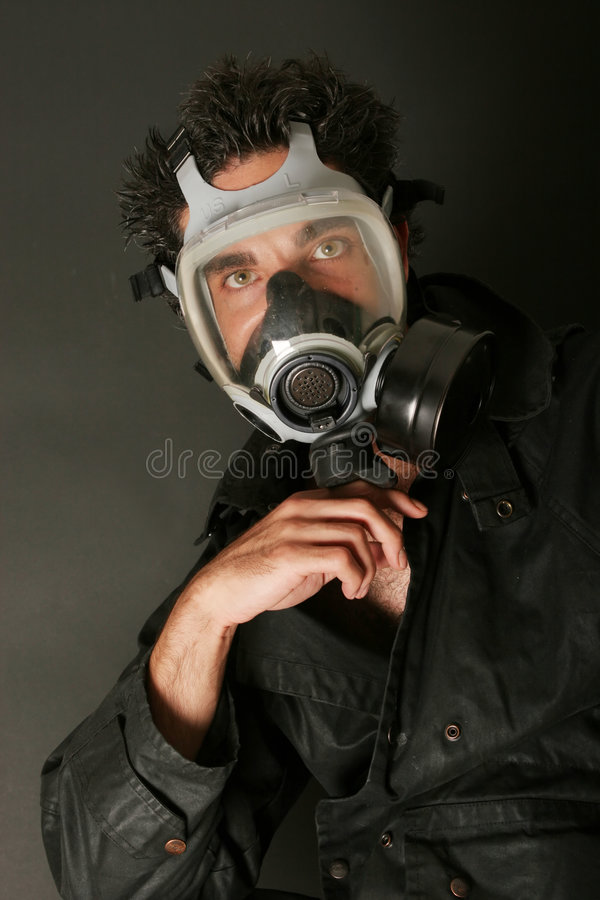 Free Man In Gas Mask Stock Photo - 2567270