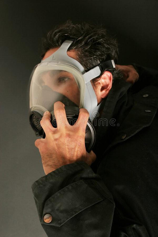 Free Man In Gas Mask Stock Photos - 2691383