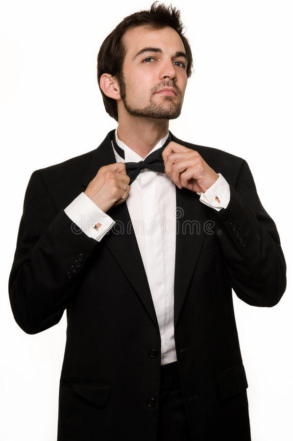 Free Man In Tuxedo Stock Photo - 5528890
