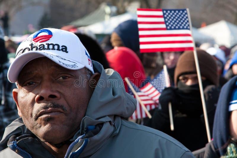 Man at Inauguration stock photos