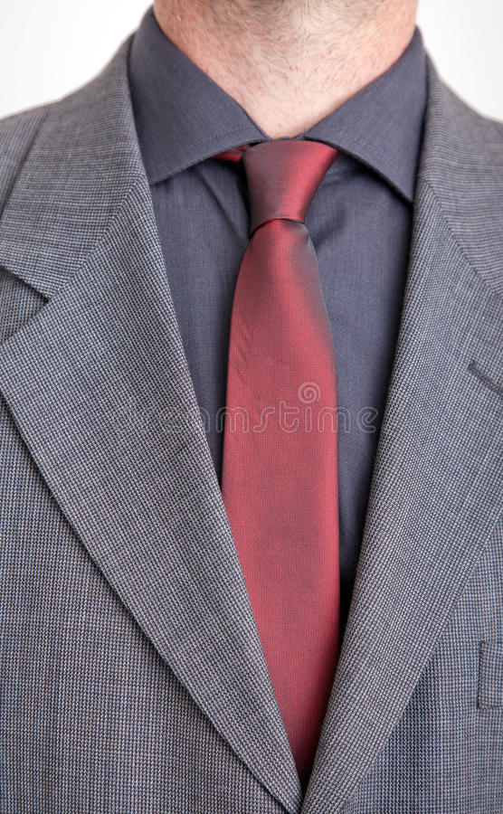 Download Man In Jacket, Shirt And Tie Stock Photo - Image: 12381298