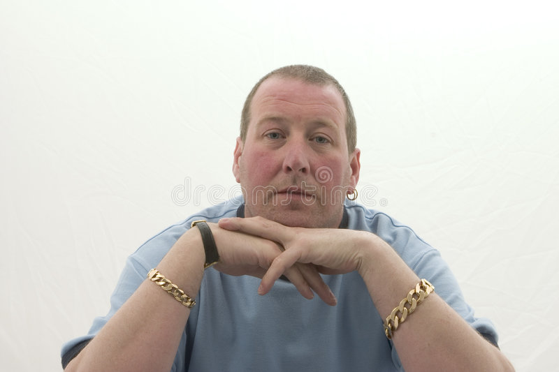Download Man With Jewellery Royalty Free Stock Photos - Image: 194398