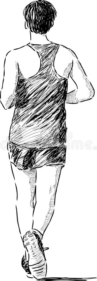 Man Jogging Stock Images