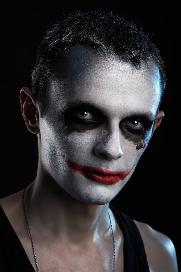Man joker royalty free stock images