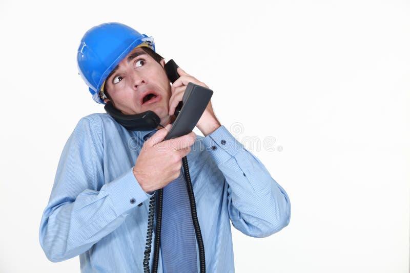 Download Man Juggling Calls Royalty Free Stock Photography - Image: 33676437