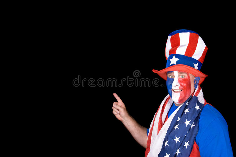 Download Man On July Fourth Royalty Free Stock Photography - Image: 14775197