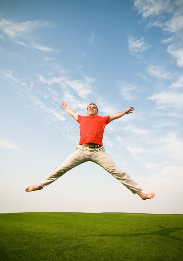 Free Man Jumping Royalty Free Stock Images - 12280399