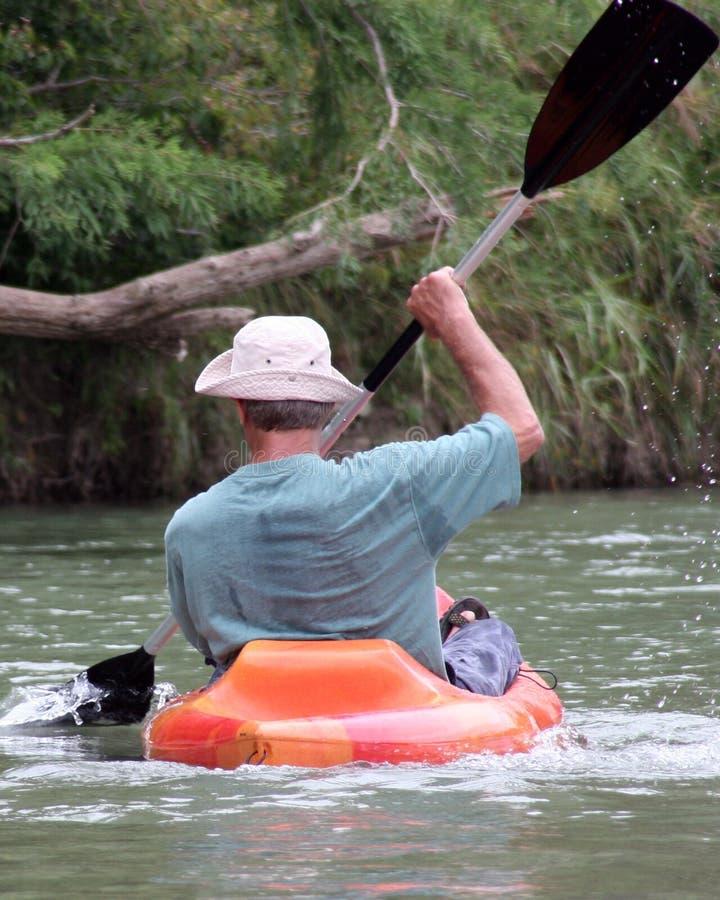 Download Man in Kayak stock photo. Image of perspiration, active - 189730