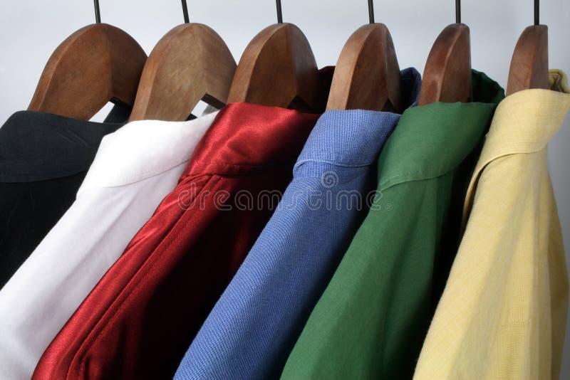 Man kleding royalty-vrije stock afbeelding