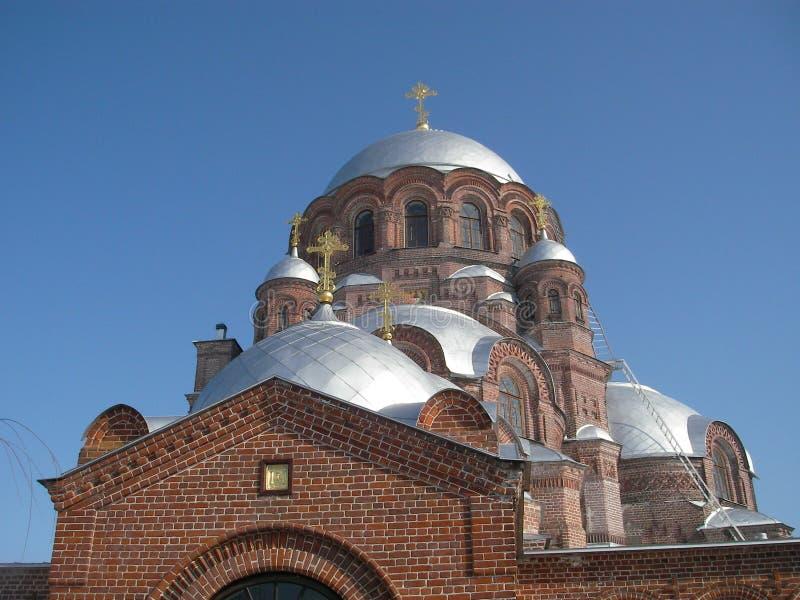 Man kloster royaltyfria bilder