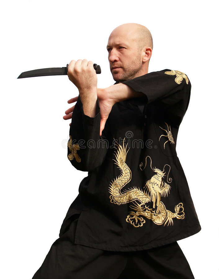 Download Man with knife stock image. Image of fists, blade, fitness - 3643031