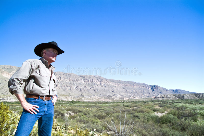 Download The Man, The Land Stock Photo - Image: 3492400