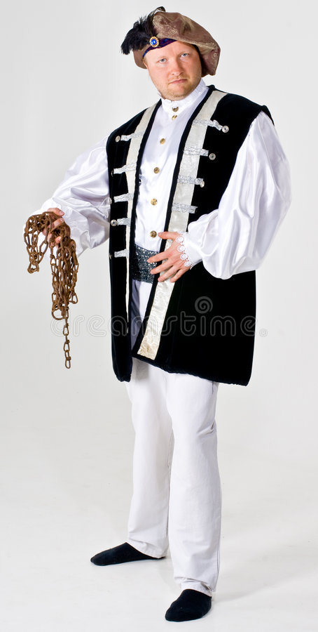 Download Man in landlord costume stock image. Image of holding - 5549059