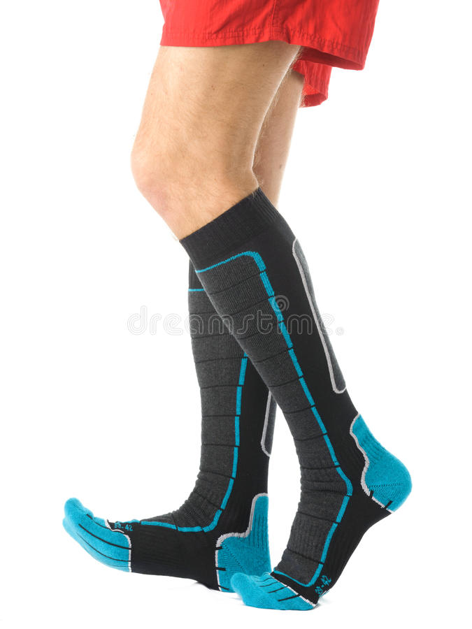 Man legs stock images