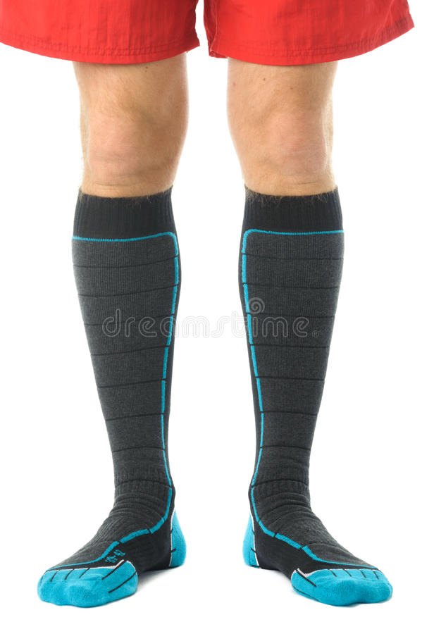 Man legs royalty free stock image