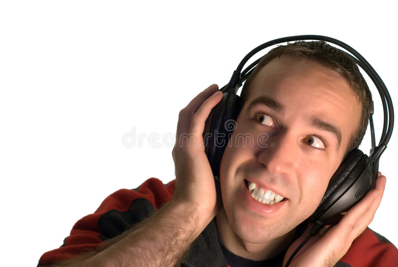 Download Man Listening to Music stock photo. Image of enjoy, audio - 7087290