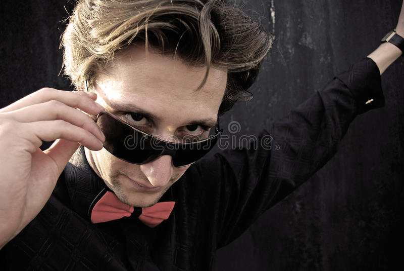 Download Man looking. stock image. Image of macho, good, attitude - 11327941