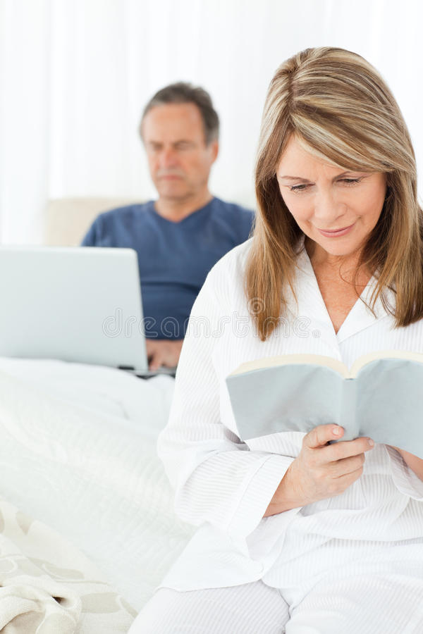 Download Man looking at his laptop stock photo. Image of leisure - 18109520