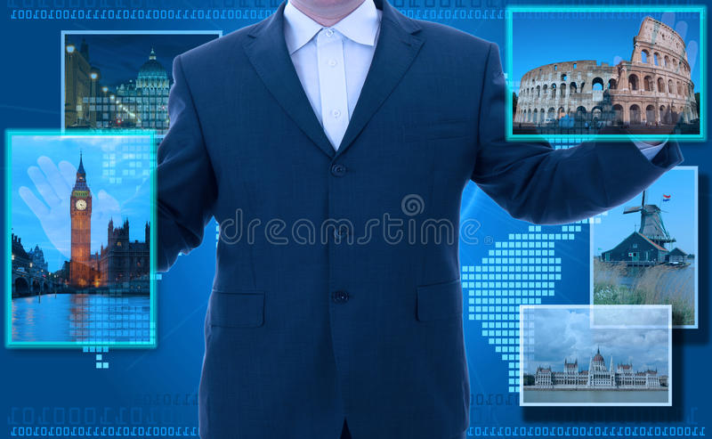 Download Man Looking For Tourism Information Stock Photo - Image: 27011694