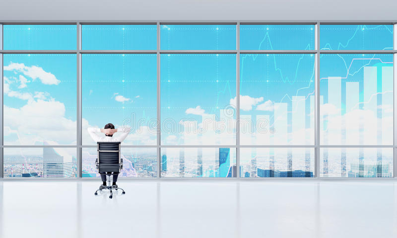Download Man Looking Into Window And Thinking Stock Image - Image of copyspace, perspective: 68123075