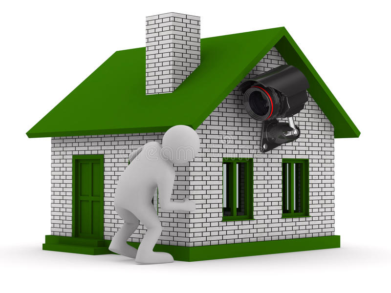 Download Man Looks Out Of Corner Stock Image - Image: 19122061