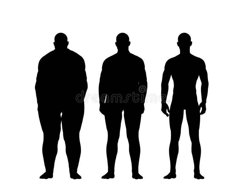 Download Man losing weight stock image. Image of body, range, obese - 23033919