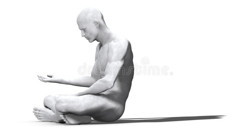Download Man of Marble - 02 stock illustration. Image of illustration - 2098250
