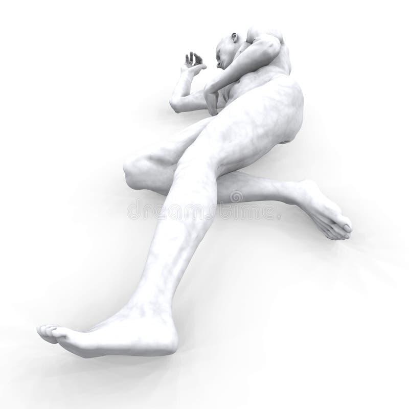 Download Man of Marble - 09a stock illustration. Illustration of figure - 2139992